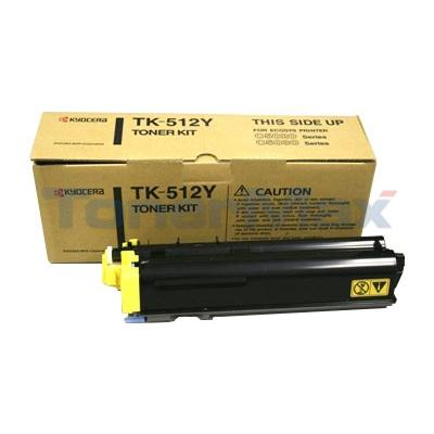 KYOCERA MITA C5020 5030 TONER KIT YELLOW